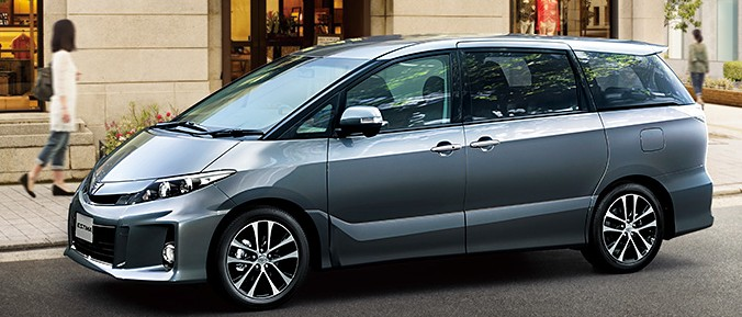 Toyota Estima MPV gets a new facelift for 2012 Image #106339