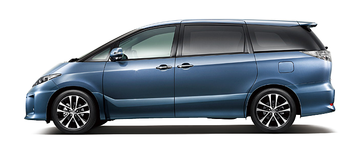 Toyota Estima MPV gets a new facelift for 2012 Image #106341