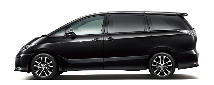 Toyota Estima MPV gets a new facelift for 2012 Image #106343