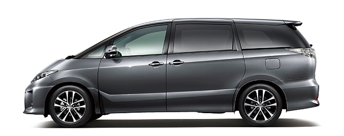 Toyota Estima MPV gets a new facelift for 2012 Image #106344