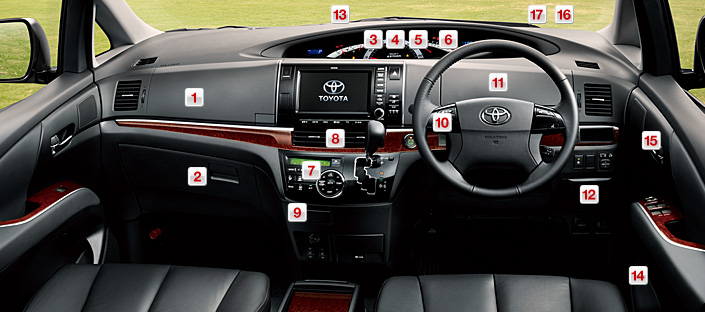 Toyota Estima MPV gets a new facelift for 2012 Image #106358