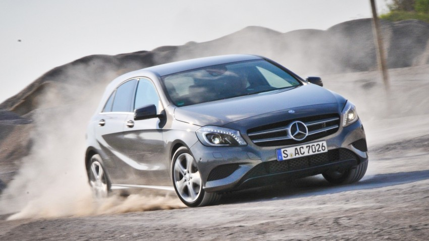 DRIVEN: W176 Mercedes-Benz A-Class – we sample the A200, A250 and A250 Sport in Slovenia Image #285027