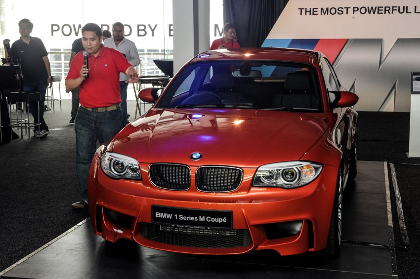 BMW M5 and M3 Coupe driven on track at the BMW M Track Experience Asia 2012, Sepang Image #117012