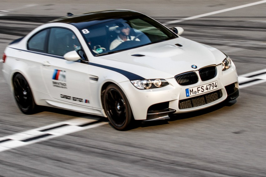 BMW M5 and M3 Coupe driven on track at the BMW M Track Experience Asia 2012, Sepang Image #117024