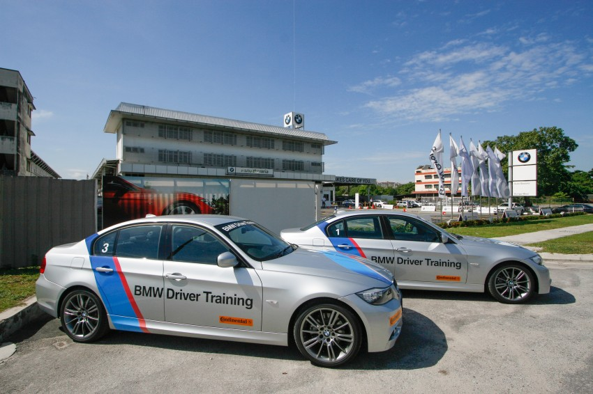 F30 BMW 3-Series 320d goes sideways at the Auto Bavaria Sg. Besi Dynamic Drive event Image #116475
