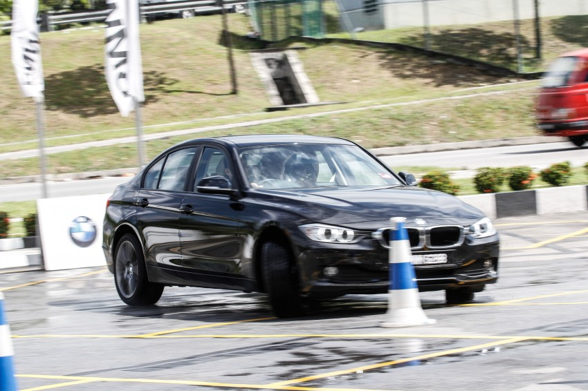 F30 BMW 3-Series 320d goes sideways at the Auto Bavaria Sg. Besi Dynamic Drive event Image #116479