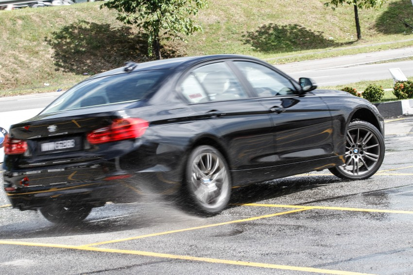 F30 BMW 3-Series 320d goes sideways at the Auto Bavaria Sg. Besi Dynamic Drive event Image #116480