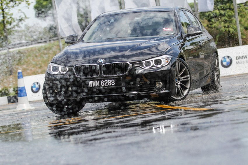 F30 BMW 3-Series 320d goes sideways at the Auto Bavaria Sg. Besi Dynamic Drive event Image #116481
