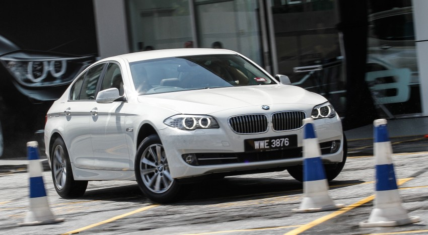 F30 BMW 3-Series 320d goes sideways at the Auto Bavaria Sg. Besi Dynamic Drive event Image #116485