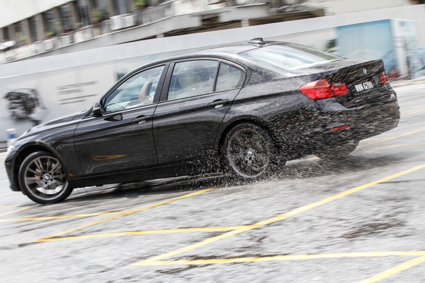 F30 BMW 3-Series 320d goes sideways at the Auto Bavaria Sg. Besi Dynamic Drive event Image #116490