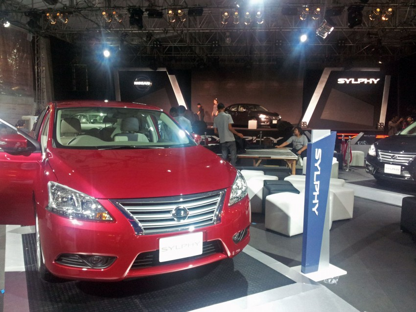 Nissan Sylphy launched in Thailand – new model gets improved 1.6, new 1.8, CVT; from 746,000 baht Image #128056