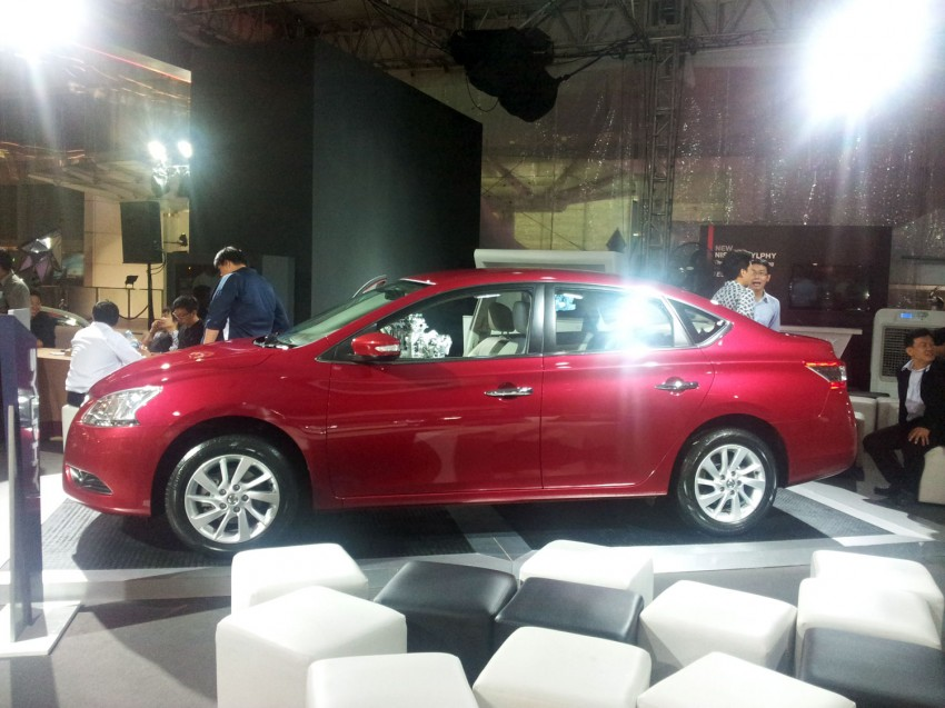 Nissan Sylphy launched in Thailand – new model gets improved 1.6, new 1.8, CVT; from 746,000 baht Image #128057