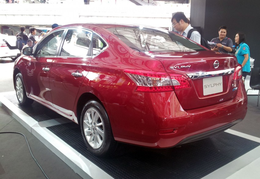 Nissan Sylphy launched in Thailand – new model gets improved 1.6, new 1.8, CVT; from 746,000 baht Image #128063