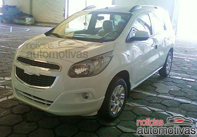 2013 Chevrolet Spin MPV to be built in Indonesia Image #112523