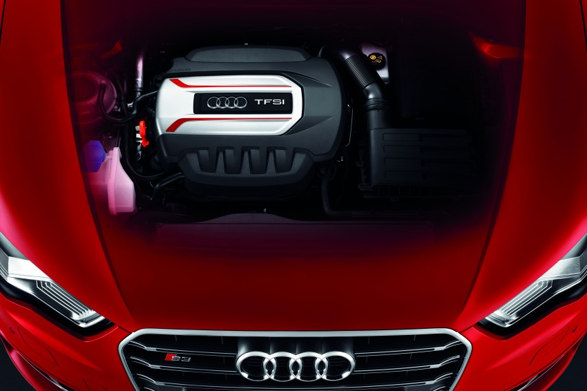 New Audi S3 for Paris premiere – new 2.0 TFSI, 300 PS Image #132471