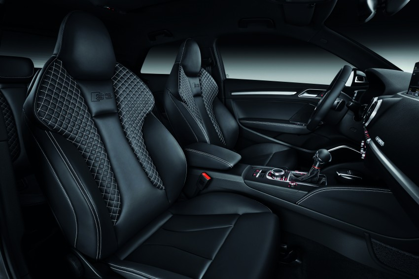 New Audi S3 for Paris premiere – new 2.0 TFSI, 300 PS Image #132472