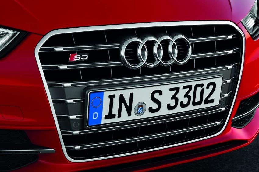 New Audi S3 for Paris premiere – new 2.0 TFSI, 300 PS Image #132483