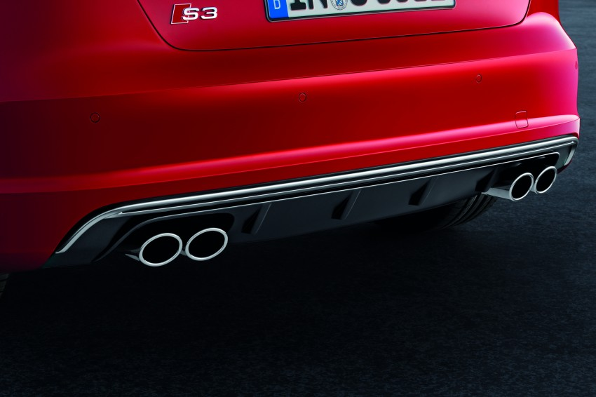 New Audi S3 for Paris premiere – new 2.0 TFSI, 300 PS Image #132484