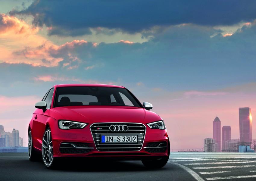New Audi S3 for Paris premiere – new 2.0 TFSI, 300 PS Image #132486