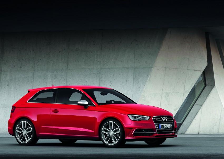 New Audi S3 for Paris premiere – new 2.0 TFSI, 300 PS Image #132488