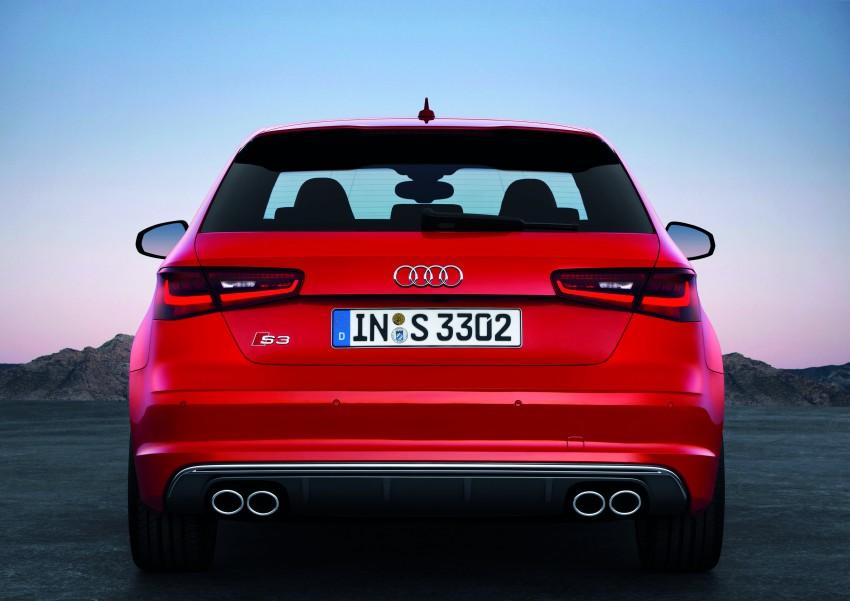 New Audi S3 for Paris premiere – new 2.0 TFSI, 300 PS Image #132490
