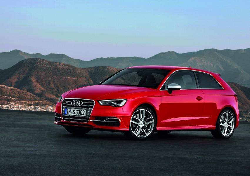 New Audi S3 for Paris premiere – new 2.0 TFSI, 300 PS Image #132493