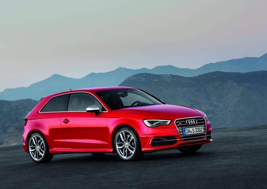 New Audi S3 for Paris premiere – new 2.0 TFSI, 300 PS Image #132500