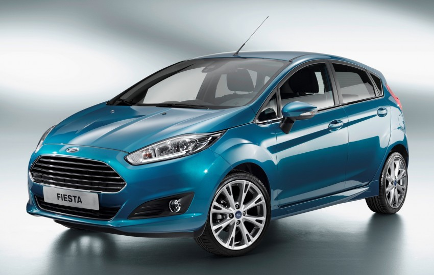 Ford Fiesta facelift unveiled, gets 1.0L EcoBoost Image #128912