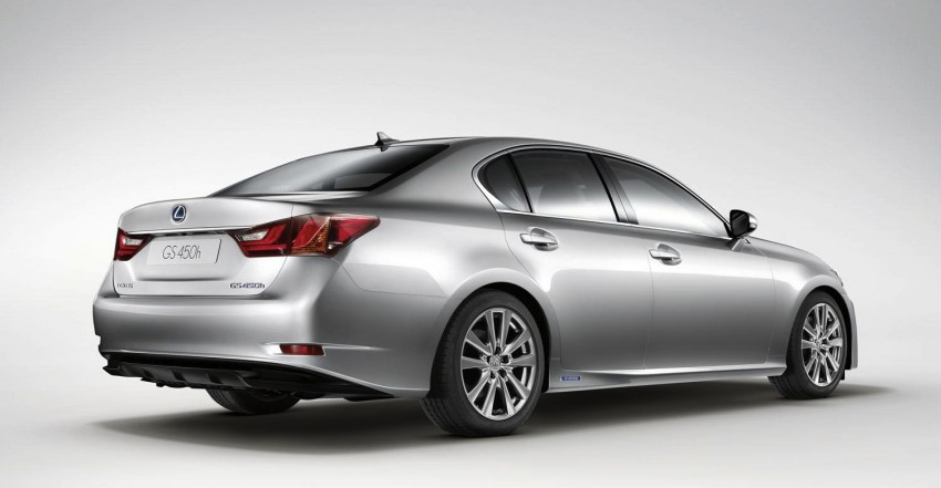 Lexus GS 450h gets an early reveal ahead of Frankfurt Image #68246