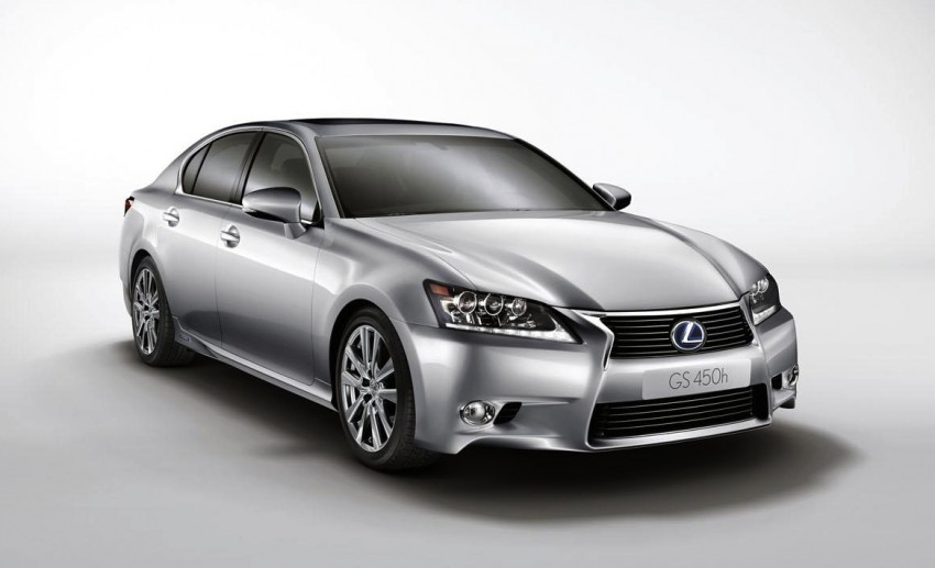 Lexus GS 450h gets an early reveal ahead of Frankfurt Image #68247