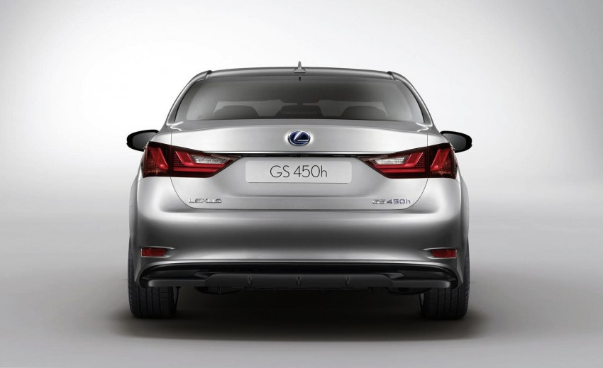 Lexus GS 450h gets an early reveal ahead of Frankfurt Image #68248