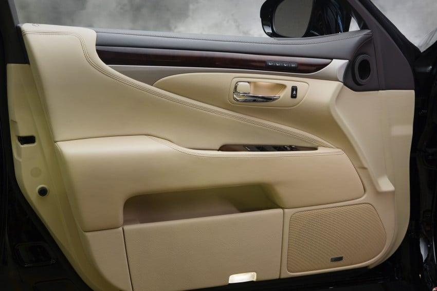 New Lexus LS unveiled, F Sport new addition to range Image #122381