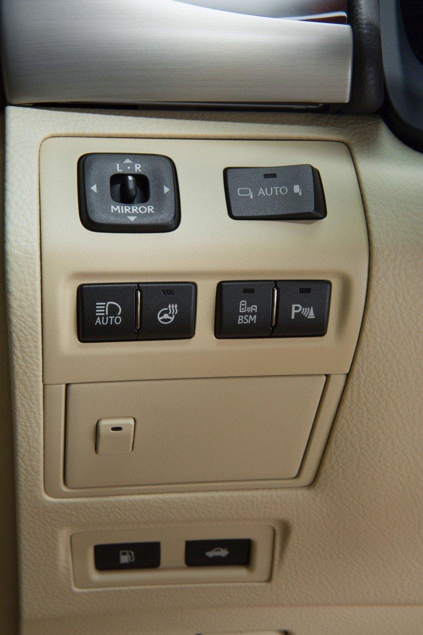 New Lexus LS unveiled, F Sport new addition to range Image #122382