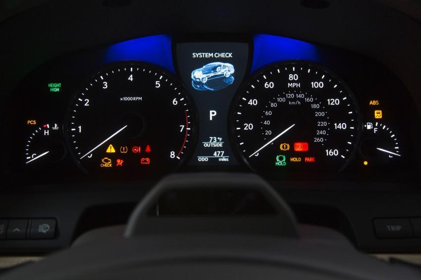 New Lexus LS unveiled, F Sport new addition to range Image #122385