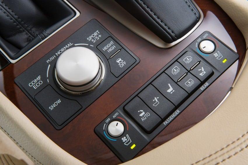 New Lexus LS unveiled, F Sport new addition to range Image #122388