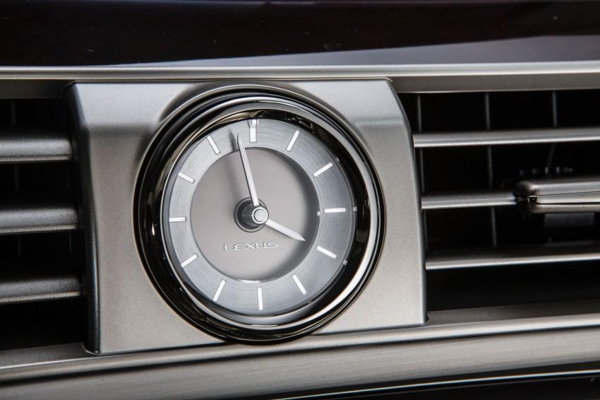 New Lexus LS unveiled, F Sport new addition to range Image #122389