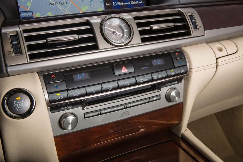 New Lexus LS unveiled, F Sport new addition to range Image #122390