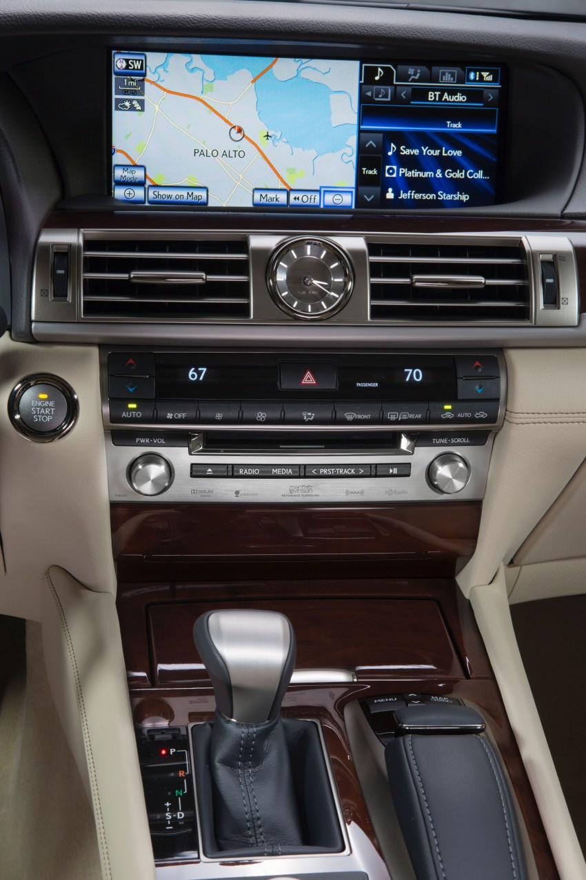 New Lexus LS unveiled, F Sport new addition to range Image #122392