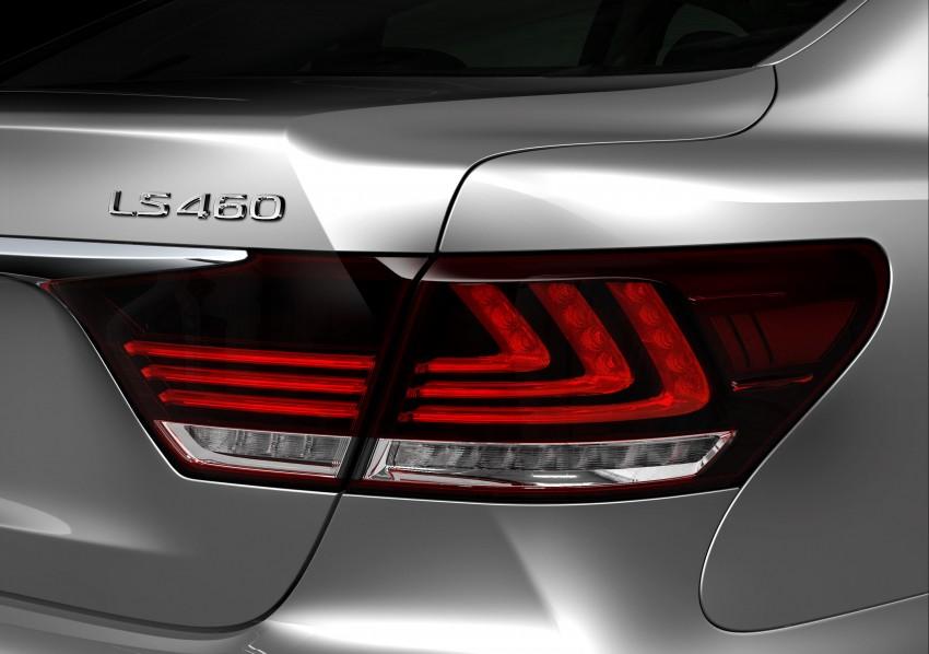 New Lexus LS unveiled, F Sport new addition to range Image #122394