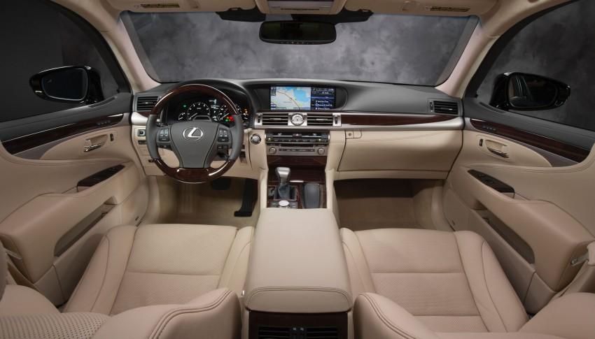 New Lexus LS unveiled, F Sport new addition to range Image #122396