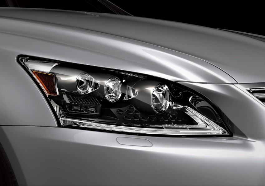 New Lexus LS unveiled, F Sport new addition to range Image #122399