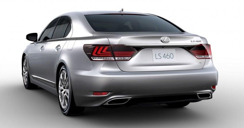 New Lexus LS unveiled, F Sport new addition to range Image #122401