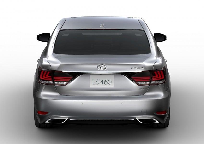 New Lexus LS unveiled, F Sport new addition to range Image #122402
