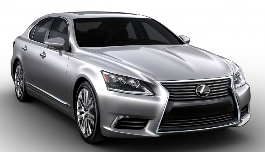 New Lexus LS unveiled, F Sport new addition to range Image #122404