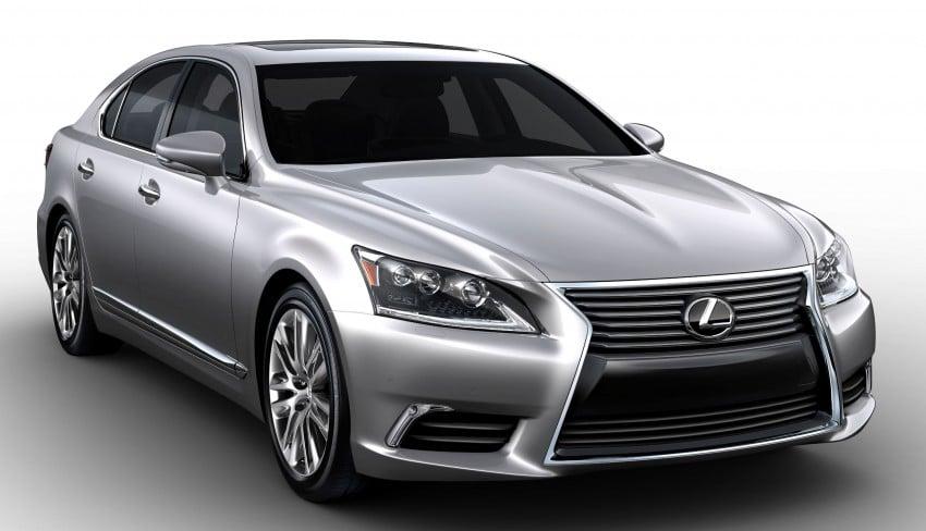 New Lexus LS unveiled, F Sport new addition to range Image #122404