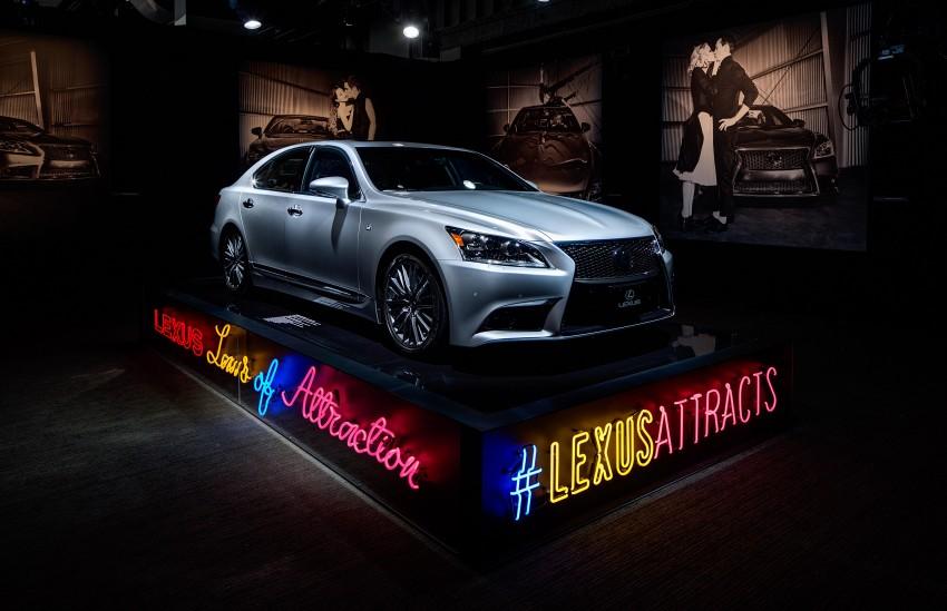 New Lexus LS unveiled, F Sport new addition to range Image #122406