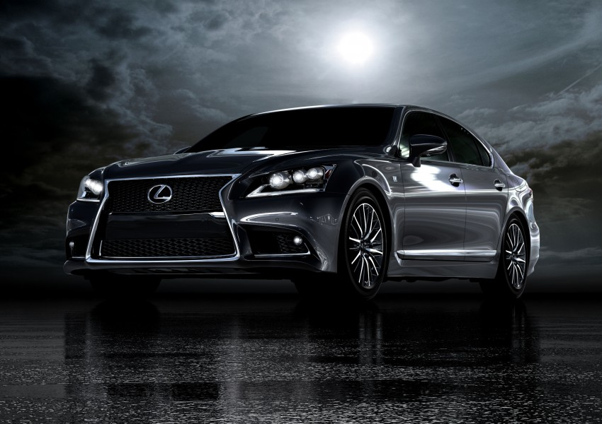 New Lexus LS unveiled, F Sport new addition to range Image #122356