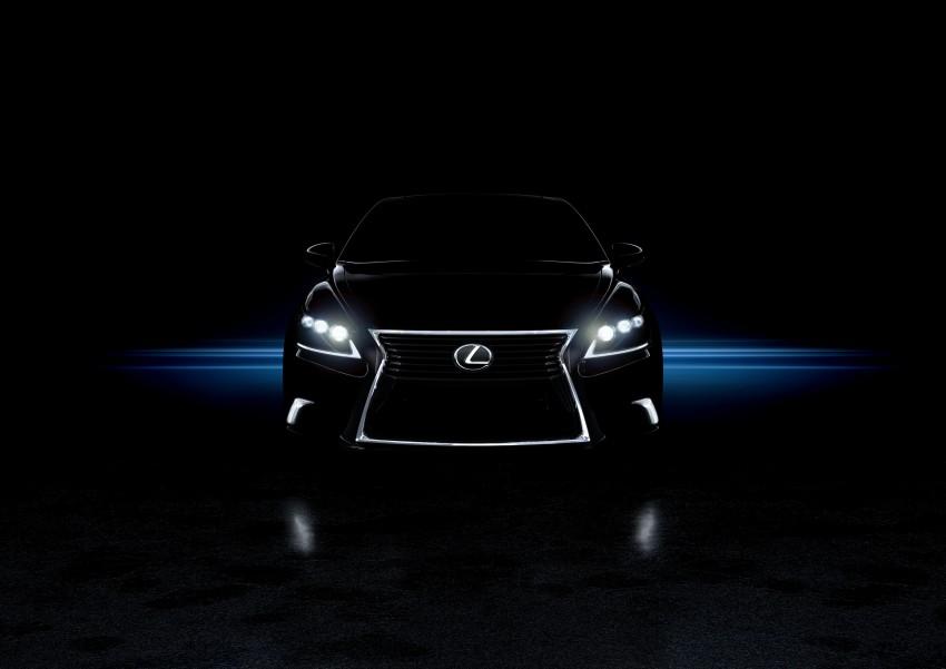 New Lexus LS unveiled, F Sport new addition to range Image #122357
