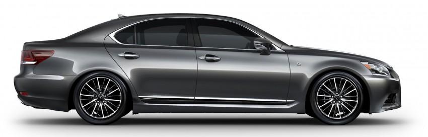New Lexus LS unveiled, F Sport new addition to range Image #122364