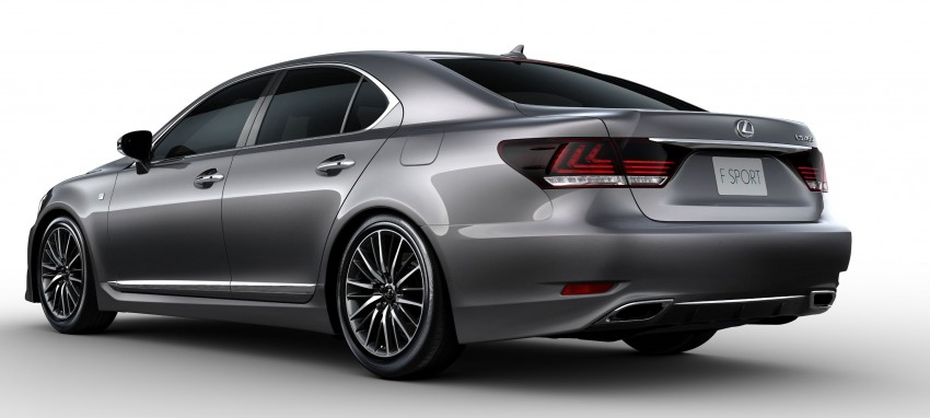 New Lexus LS unveiled, F Sport new addition to range Image #122365